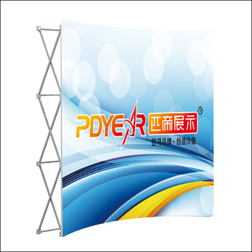 3X3/8FT Curve Pop Up Display